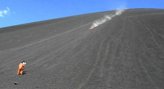 Nicaragua Volcano Boarding